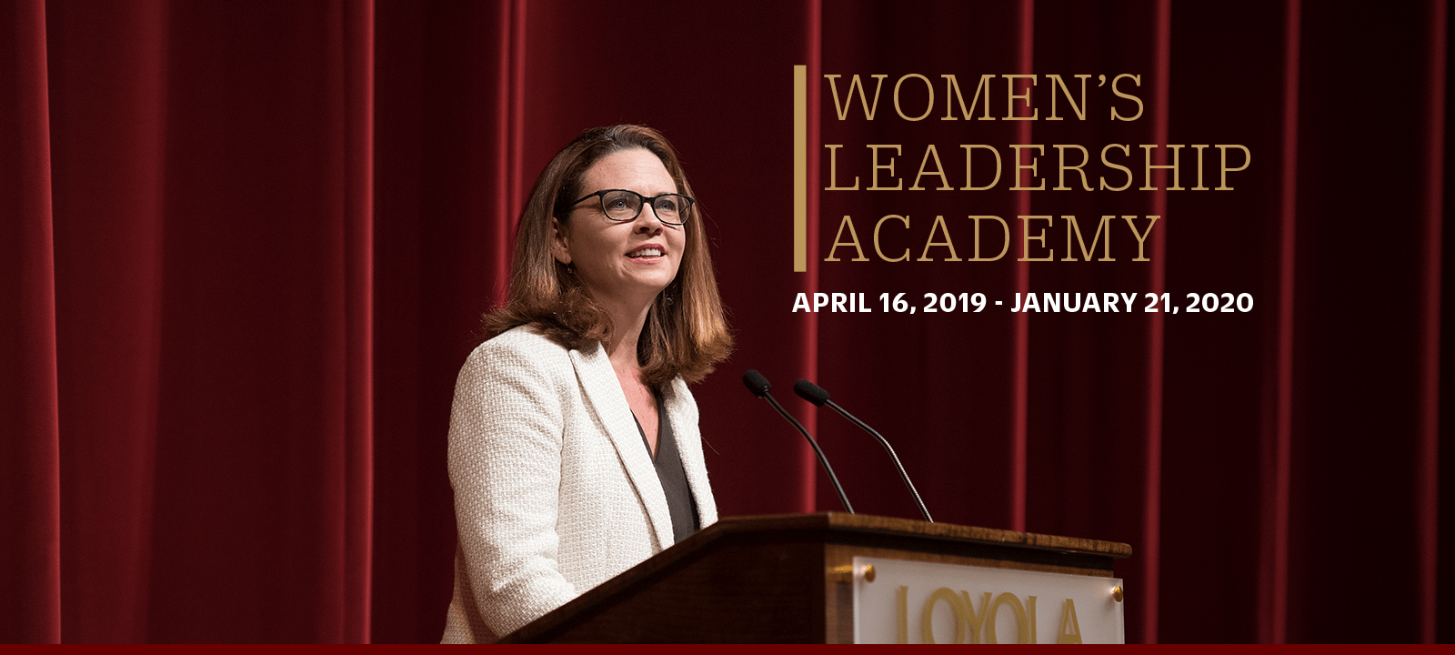 Tania Tetlow welcomes you to the new Women's Leadership Academy