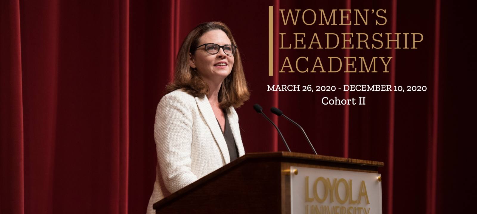Stay tuned for the new Women's Leadership Academy website for updates!